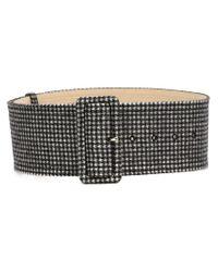 Rochas - Black Tweed Belt - Lyst
