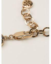 Tory Burch | Green 3D Flower Necklace | Lyst