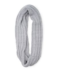 Forever 21 - Blue Chunky Knit Infinity Scarf - Lyst