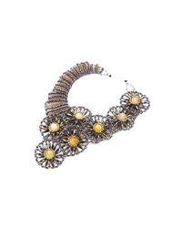 Nakamol   Multicolor Whirligig Necklace-hematite   Lyst