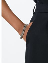 Ann Demeulemeester | Metallic Multi-chain Bracelet | Lyst