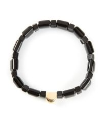 Luis Morais | Metallic Gold Detail Bracelet for Men | Lyst