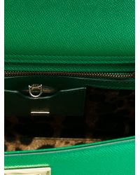 Dolce & Gabbana | Green 'miss Sicily' Tote | Lyst