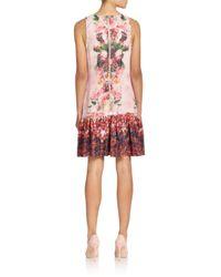 W118 by Walter Baker | Multicolor Emilia Floral Ruffle Hem Dress | Lyst