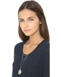 Jules Smith - Metallic Valerie Necklace - Silver - Lyst