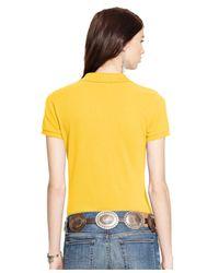 Polo Ralph Lauren | Yellow Sim-fit Big-pony Polo Shirt | Lyst