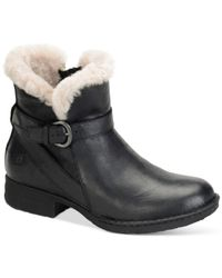 Born | Black Kaia Cold Weather Booties | Lyst