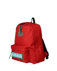 Napapijri | Red Rucksack for Men | Lyst