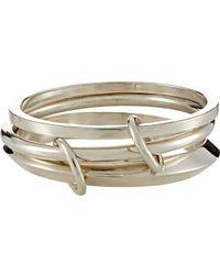 Spinelli Kilcollin - Metallic Jupiter Linked Bangles - Lyst