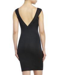 Wow Couture | Black Gold Label Corset Bandage Dress | Lyst