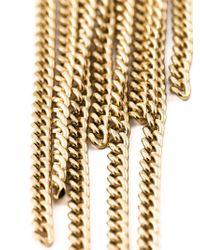 Chloé | Metallic Delfine Fringe Bracelet | Lyst