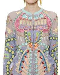 Manish Arora | Multicolor Sequined Chiffon Jacket | Lyst