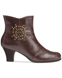 Aerosoles - Brown Guitarist Booties - Lyst