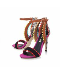 TOPSHOP Multicolor Multicoloured High Heels By Miss Kg