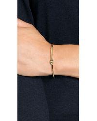 Bing Bang - Metallic All Seeing Eye Cuff Bracelet - Gold - Lyst