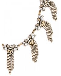 BaubleBar - Metallic Fountain Collar - Lyst