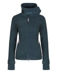 Bench - Blue Funnel Neck Zip Up Fleece Top - Lyst