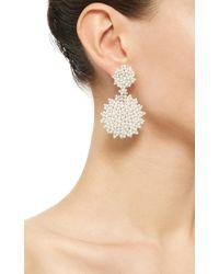 Paul Morelli - Metallic Lagrange Pearl Double Dangle Earrings - Lyst
