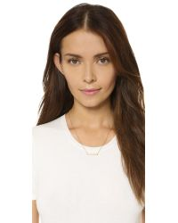 Samantha Wills | Metallic Moonlight Mile Necklace - Clear/gold | Lyst