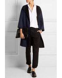 Jil Sander - Blue Oversized Reversible Double-Faced Cashmere Coat - Lyst