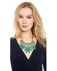 kate spade new york | Green Gardens Of Paris Statement Necklace | Lyst