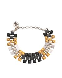 Ela Stone | Metallic Freja Pm Three-tone Bracelet | Lyst