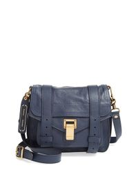 Proenza Schouler | Blue 'ps1' Crossbody Pouch | Lyst