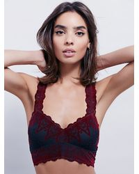Free People - Black Talisman Soft Bra - Lyst