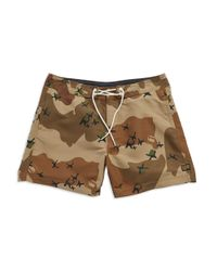 65774ef2a4319 G-Star RAW Jordan Swim Shorts in Brown for Men - Lyst