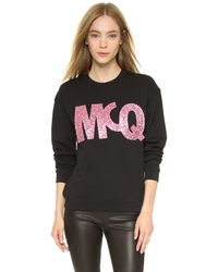 McQ - Classic Sweatshirt - Darkest Black - Lyst
