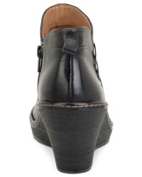 Söfft - Black Carminda Wedge Booties - Lyst