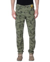 40weft - Green Casual Trouser for Men - Lyst