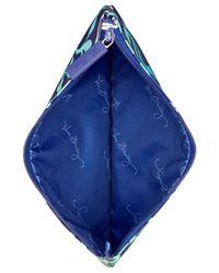 Vera Bradley | Blue Pencil Pouch | Lyst