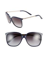Max Mara | Blue 'Classy Ii/S' 57Mm Sunglasses | Lyst
