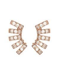 Ca&Lou - Pink Tara Ear Cuffs - Lyst