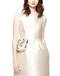 Kate Spade | Metallic Wedding Belles Ampersand Clutch | Lyst