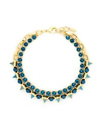 Joomi Lim | Blue 'dynamic Duo' Spike Sphere Necklace | Lyst