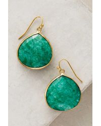 Anthropologie | Green Tristan Earrings | Lyst