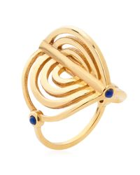 Lee Renee - Metallic Miami Circle Ring Gold - Lyst