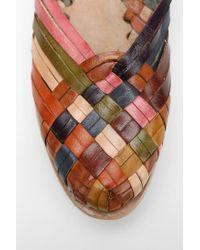 Chamula - Multicolor Anklecuff Huarache Loafer - Lyst