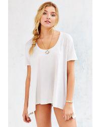Truly Madly Deeply | White Lily Tunic Top | Lyst