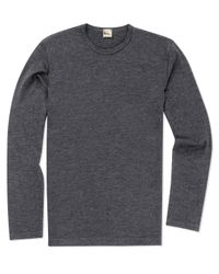 Sunspel | Gray Men's Vintage Wool Jumper for Men | Lyst