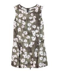 Dorothee Schumacher | Multicolor Bloom Floral Top | Lyst