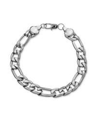 Marc Ecko - Metallic Silvertone Link Chain Bracelet - Lyst