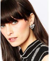 Pieces | Metallic Vega Pretty Stud Earrings | Lyst