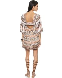 Free People - Multicolor Snap Out Of It Midsummers Dream Dress - Ivory Combo - Lyst