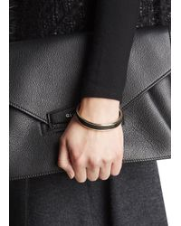 Halcyon Days - Black And 18Kt Gold Bangle - Lyst
