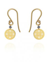 Perle De Lune Chez Carré Y. | Metallic Art Deco Earrings | Lyst