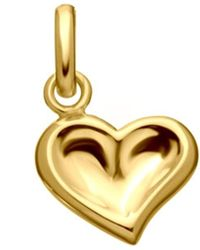 Links of London | Metallic Thumbprint Heart 18ct Gold Charm | Lyst