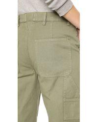 Tory Burch - Green Carpenter Pants - Agave - Lyst